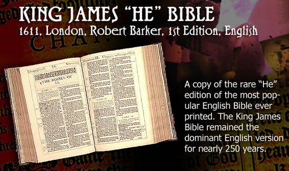 King James Bible | Tyndale's Ploughboy - Dr  Herbert Samworth